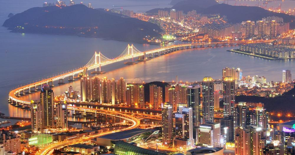 Busan - Skyline of Busan