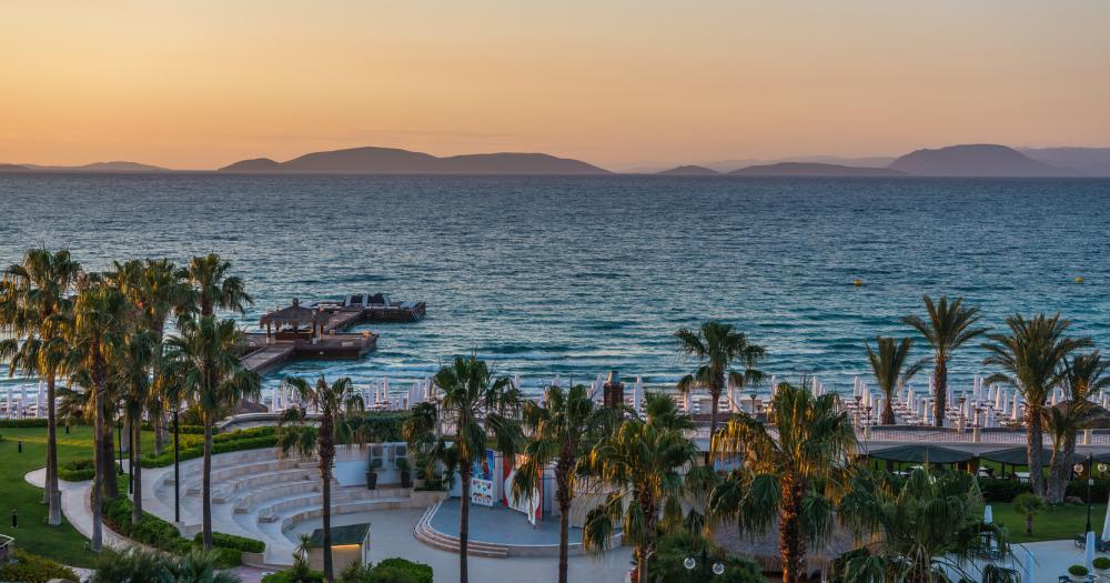 Cesme - View of the sea