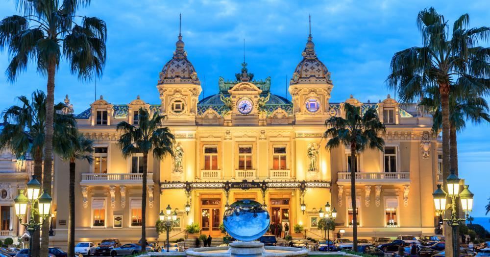 Monte-Carlo - View of the Casino of Monte-Carlo