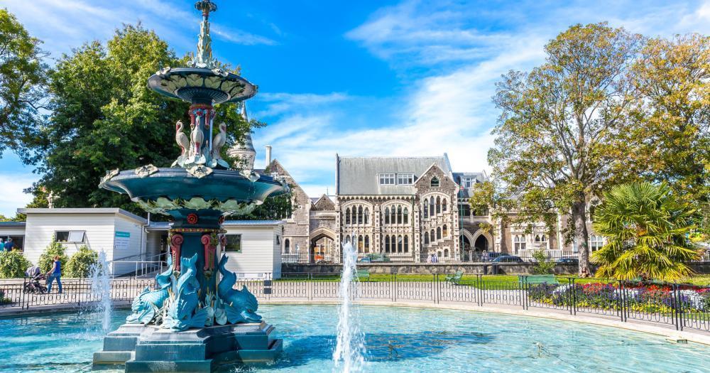 Christchurch - View of the Botanic
