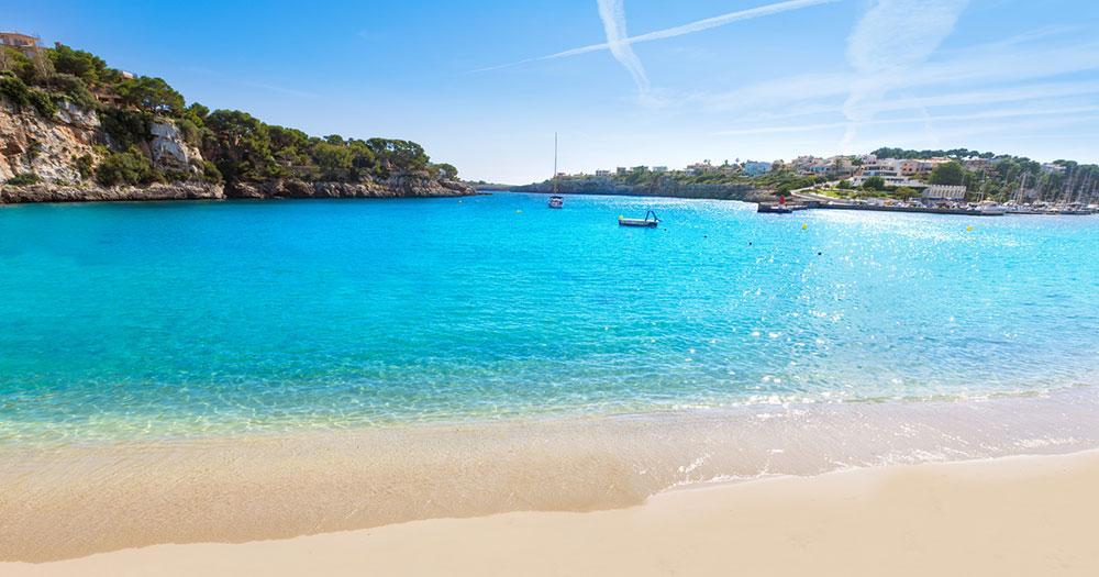 Mallorca - View to the beach