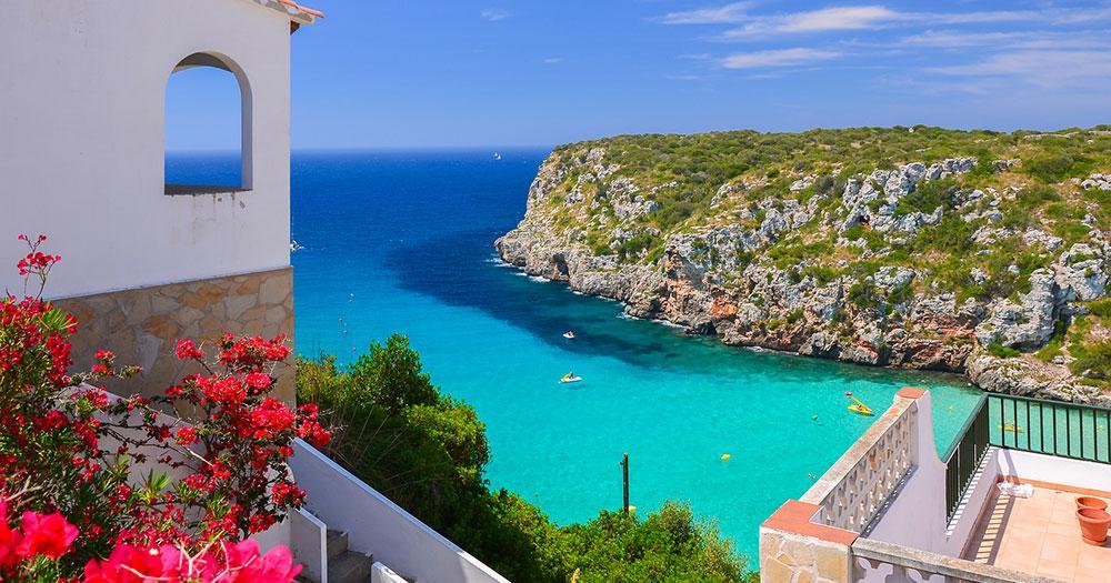 Mallorca - View of beautiful bay