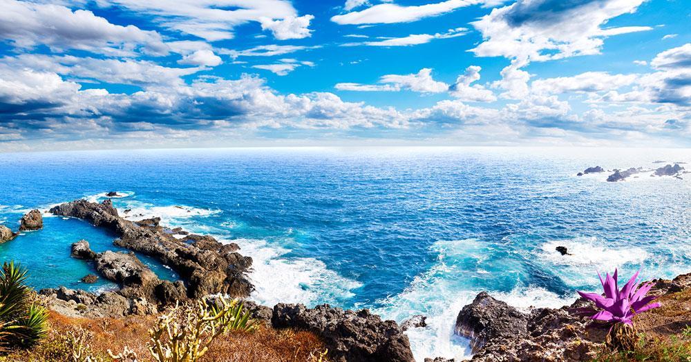 Tenerife - View to the sea