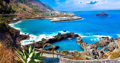 Tenerife - View of a bay