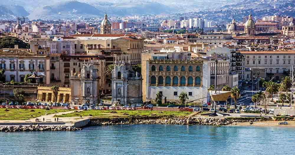 Sicily - The picturesque skyline of Palermo