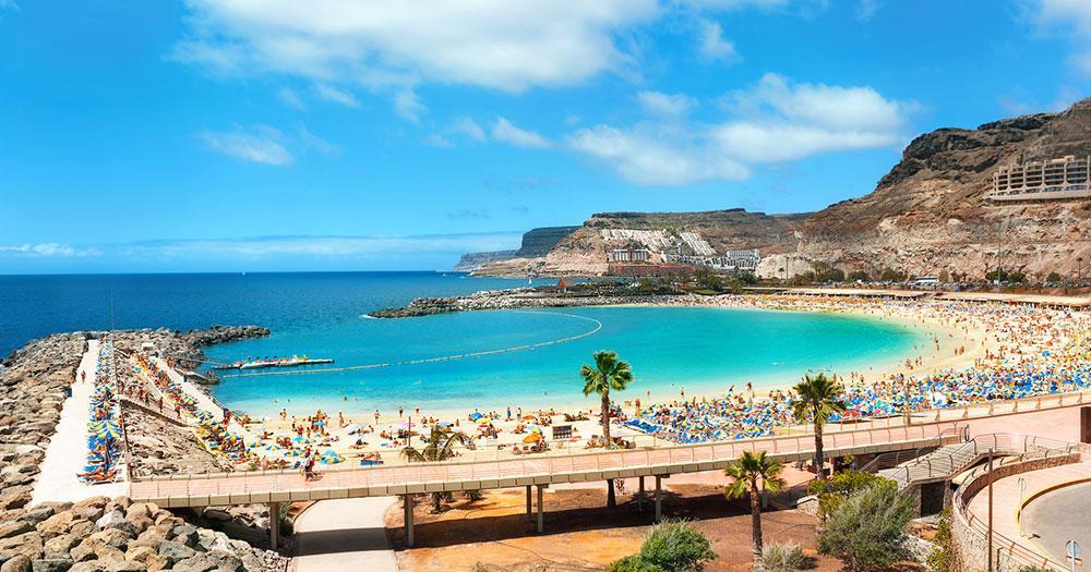 Gran Canaria - View of beautiful bay
