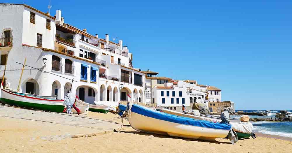 Costa Brava - Houses by the sea