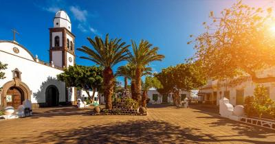 Lanzarote - Church of San Gines in Arrecife