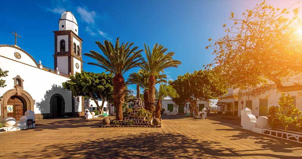 Lanzarote - Church of San Gines in Arrecife
