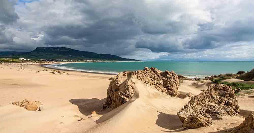 Costa de la Luz - Stones on the beach