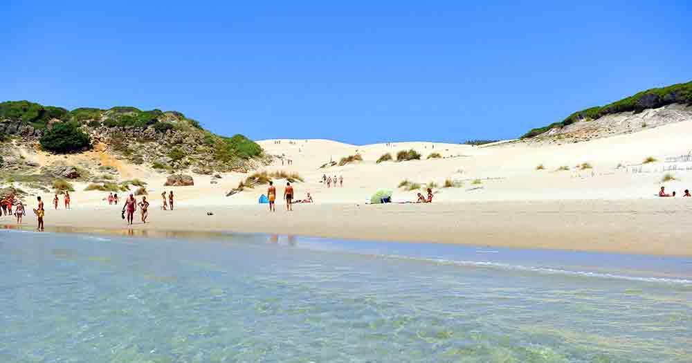 Costa de la Luz - People by the sea