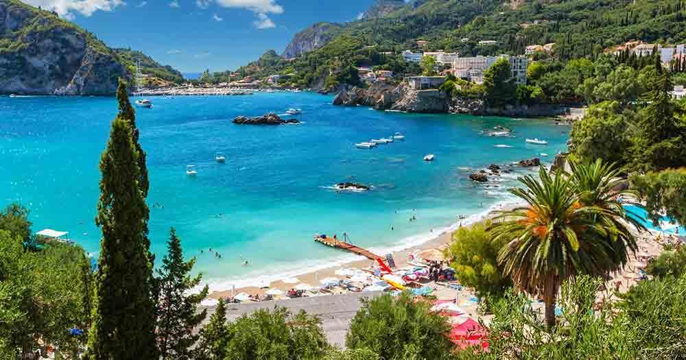 Corfu - fantastic view to the sea