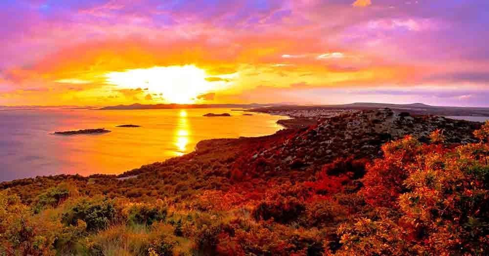 Galesnjak - sea view