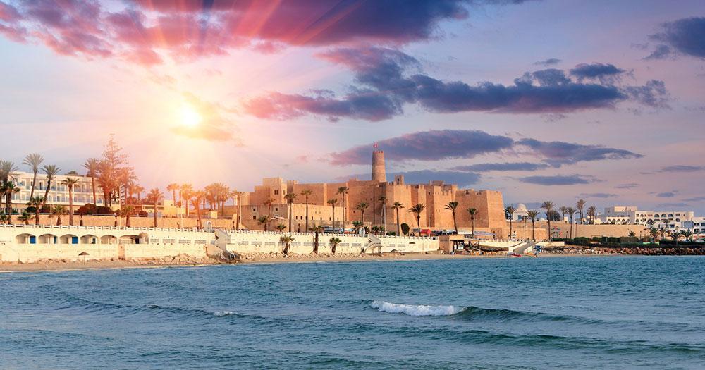 Tunisia - View of the Ribat Fort