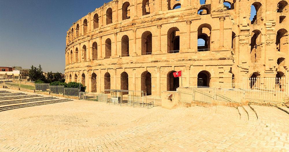 Tunisia - El Jem amphitheater