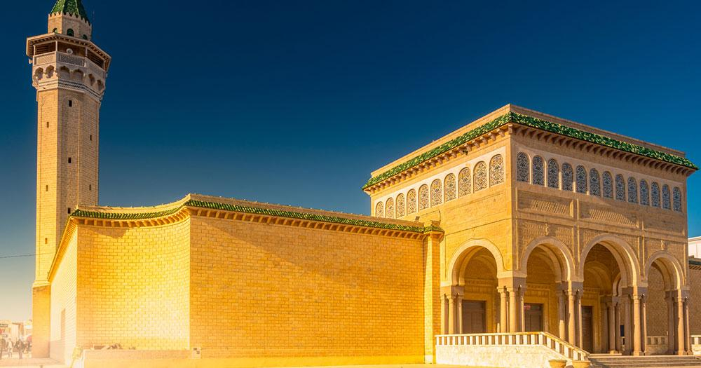 Tunisia - Bourguiba Mosque in Monastir