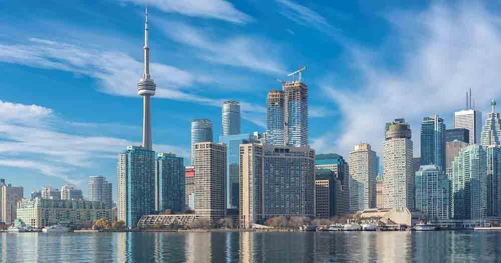 Toronto - Skyline by day