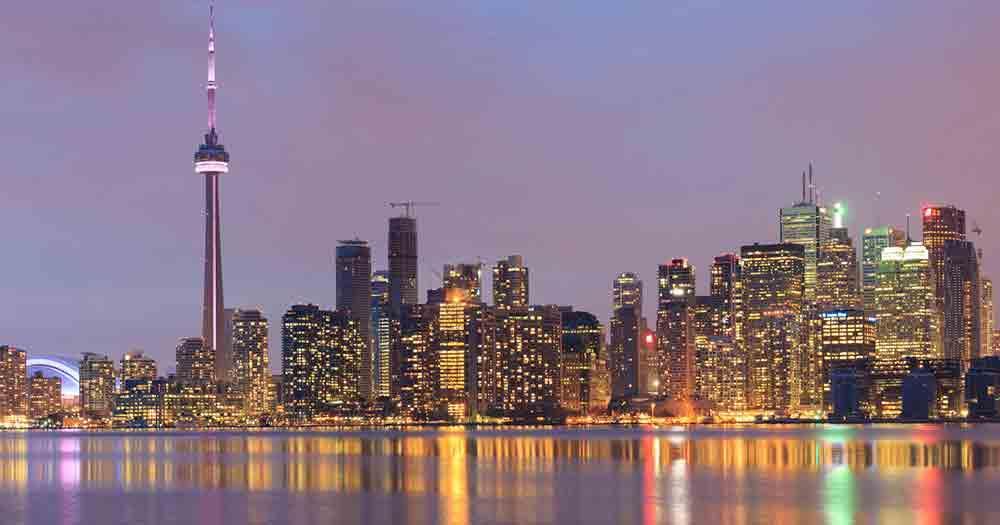 Toronto - Skyline at night