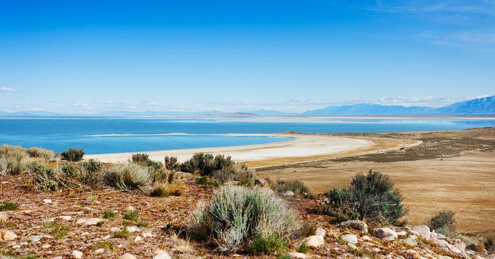 Salt Lake City - The salt lakes give the city its name