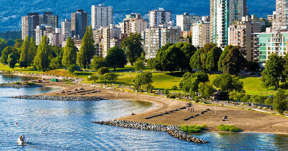 Vancouver - The beach of Vancouver