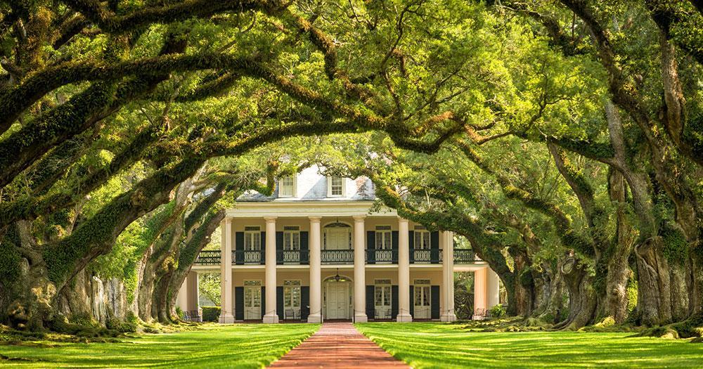 New Orleans - Die Oak Alley Plantage