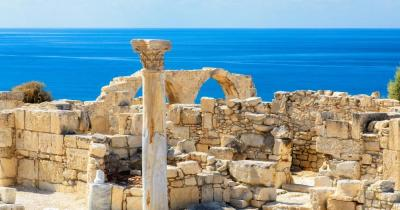 Cyprus - View of the ruins